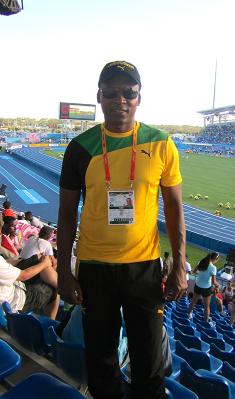 Dr. Chin supported the Jamaican Track & Field team at the IAAF/BTC World Relays in the Bahamas