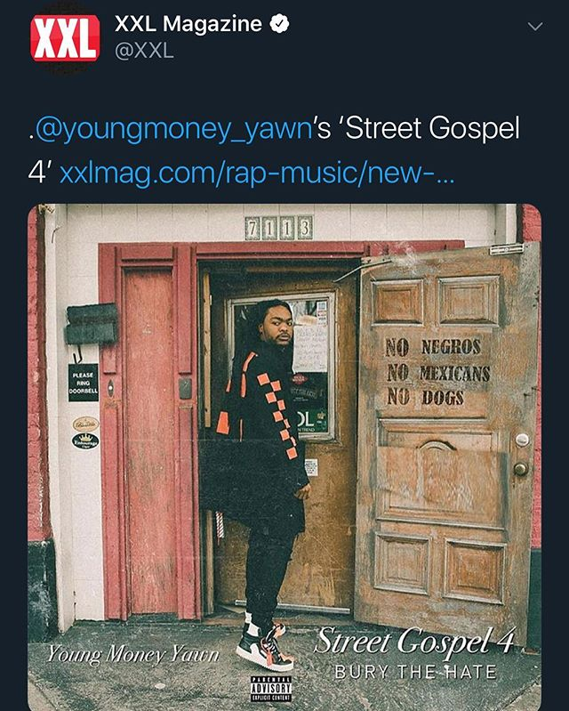 @xxl Veteran Of The Year For Sure ✈️✈️ Street Gospel 4 Streaming On All Platforms 🔥