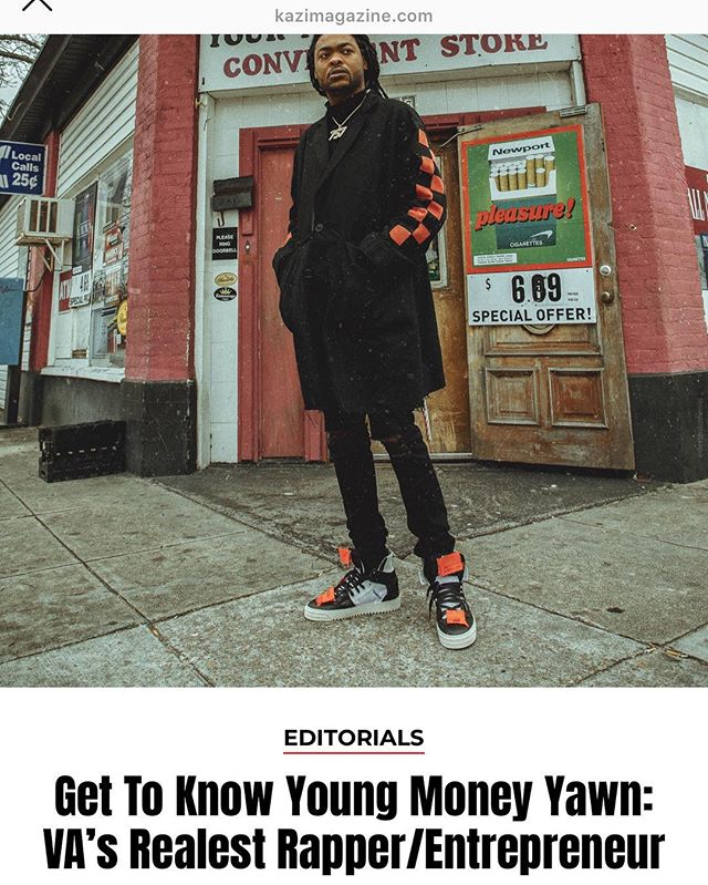 Great Read 🙌🏾 Go Check Out My First Interview Since The Release Of Street Gospel 4 on @kazimagazine 🔥🔥