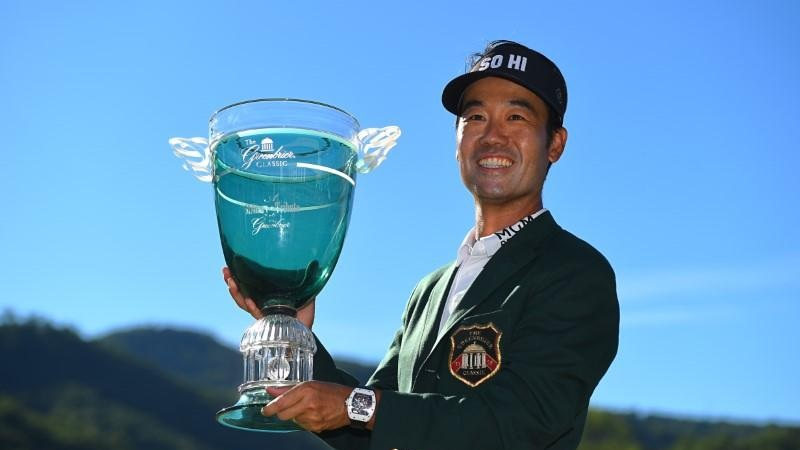 �   A Military Tribute at The Greenbrier 2018 Champion    wird    Kevin Na    🇺🇸 I Bildquelle:   https://www.reuters.com  /   Bob Donnan-USA TODAY Sports