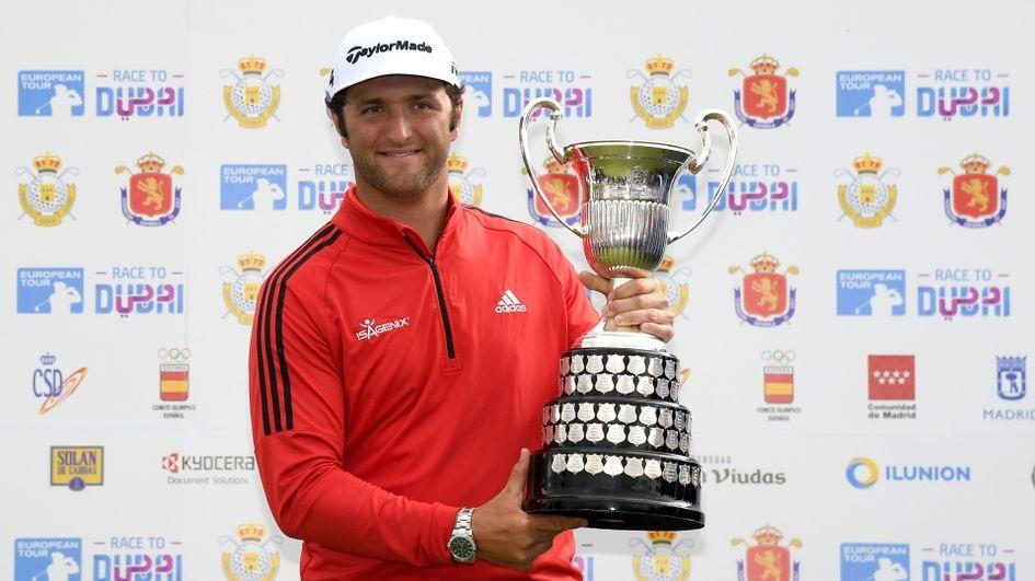 � Open de España 2018 Champion  wurde  Jon Rahm   🇪🇸  Bildquelle:  www.sportinglife.com
