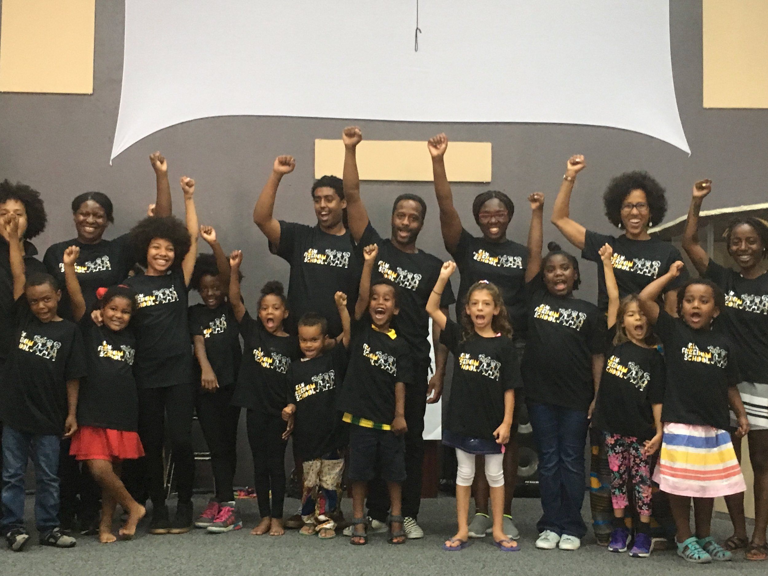 Some of our previous Freedom School participants and educators!