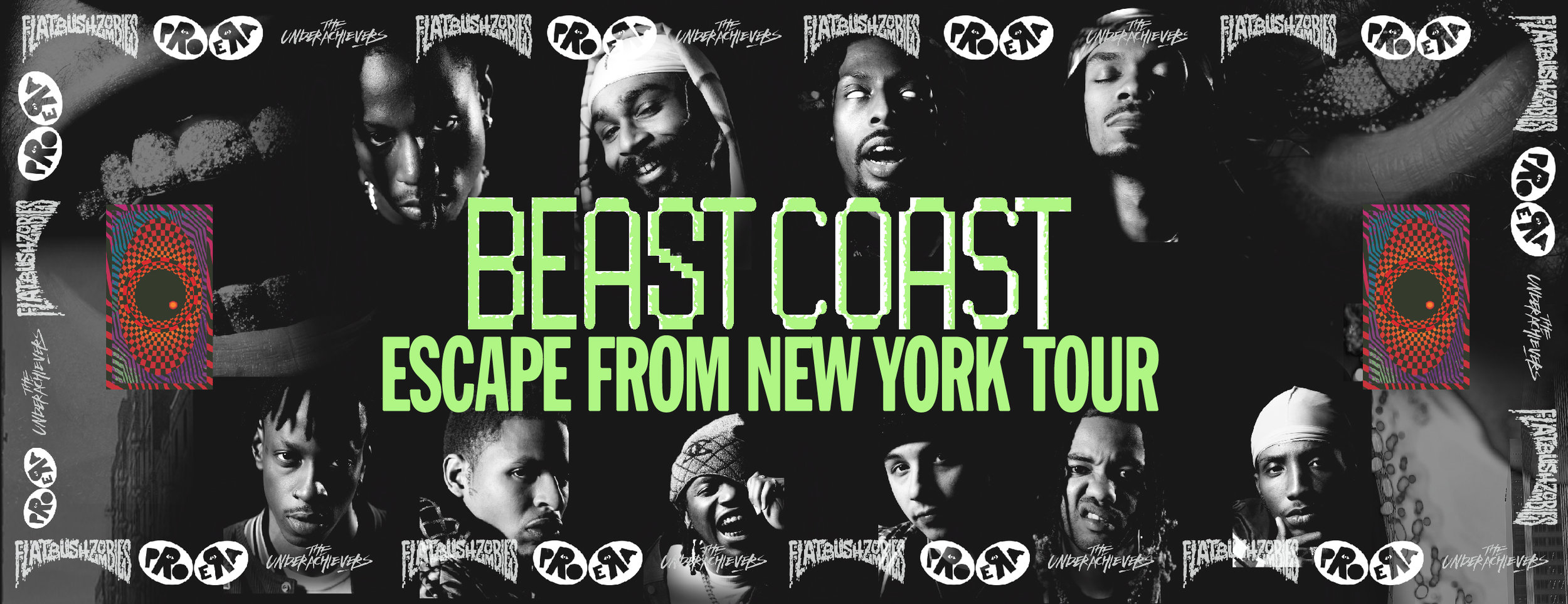 BEAST COAST ESCAPE FROM NEW YORK TOUR