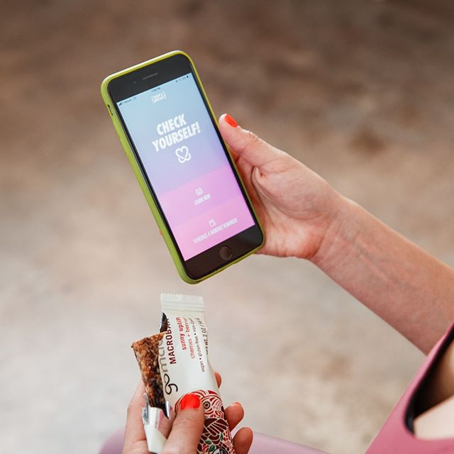 So many things we love in one photo! Always munching @gomacro and always checking in with our Check Yourself! App to stay connected to our breast health. Download using the link in our bio. xo 🍒⠀⠀⠀⠀⠀⠀⠀⠀⠀ .⠀⠀⠀⠀⠀⠀⠀⠀⠀ .⠀⠀⠀⠀⠀⠀⠀⠀⠀ .⠀⠀⠀⠀⠀⠀⠀⠀⠀ #gomacro #biggerthanabar #bettertogether #wearebettertogether #supportgirls #fitgirls #strongwomen #fierceandstrong #womensupportwomen #womenarepowerful #girlpower #breastcancerprevention #keepabreast #fit4prevention #f4p #fitforacause #iamf4p #forthehealthofit #4thehealthofit #iamfit4prevention #breastcancerpreventionmonth