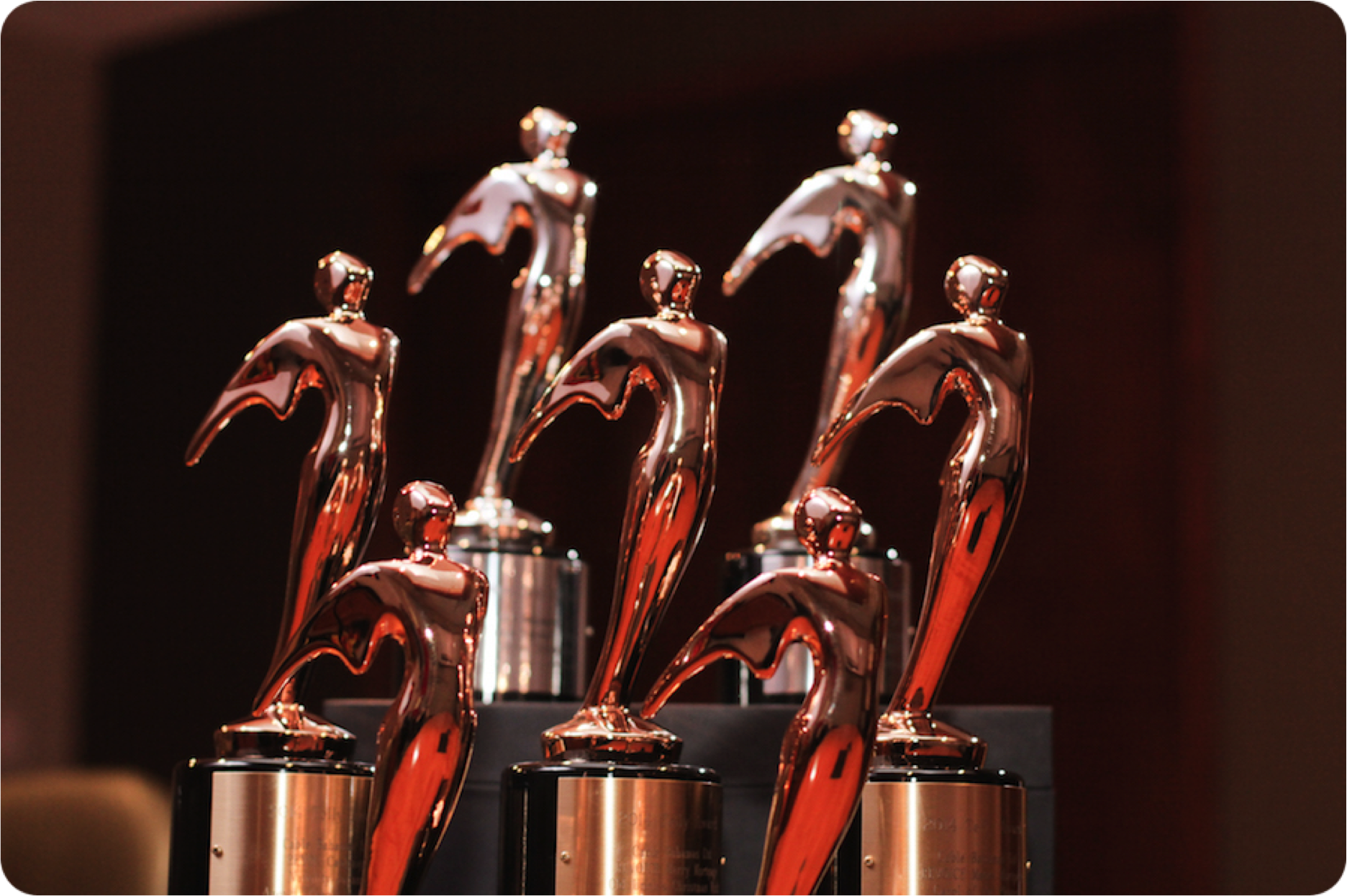 Telly Awards - Winner for production excellence - 2014-2015My directing and producing work has won 13 Telly Awards, including:• 2 Silver Awards - the highest honour• 11 Bronze Awards