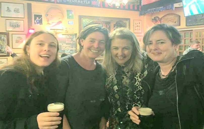 Sabrina Weber- Switzerland, Leontien Sickenga-Netherlands, Elaine Armstrong- Narcolepsy Ireland,