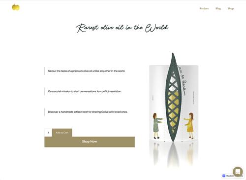 Our 2nd website design