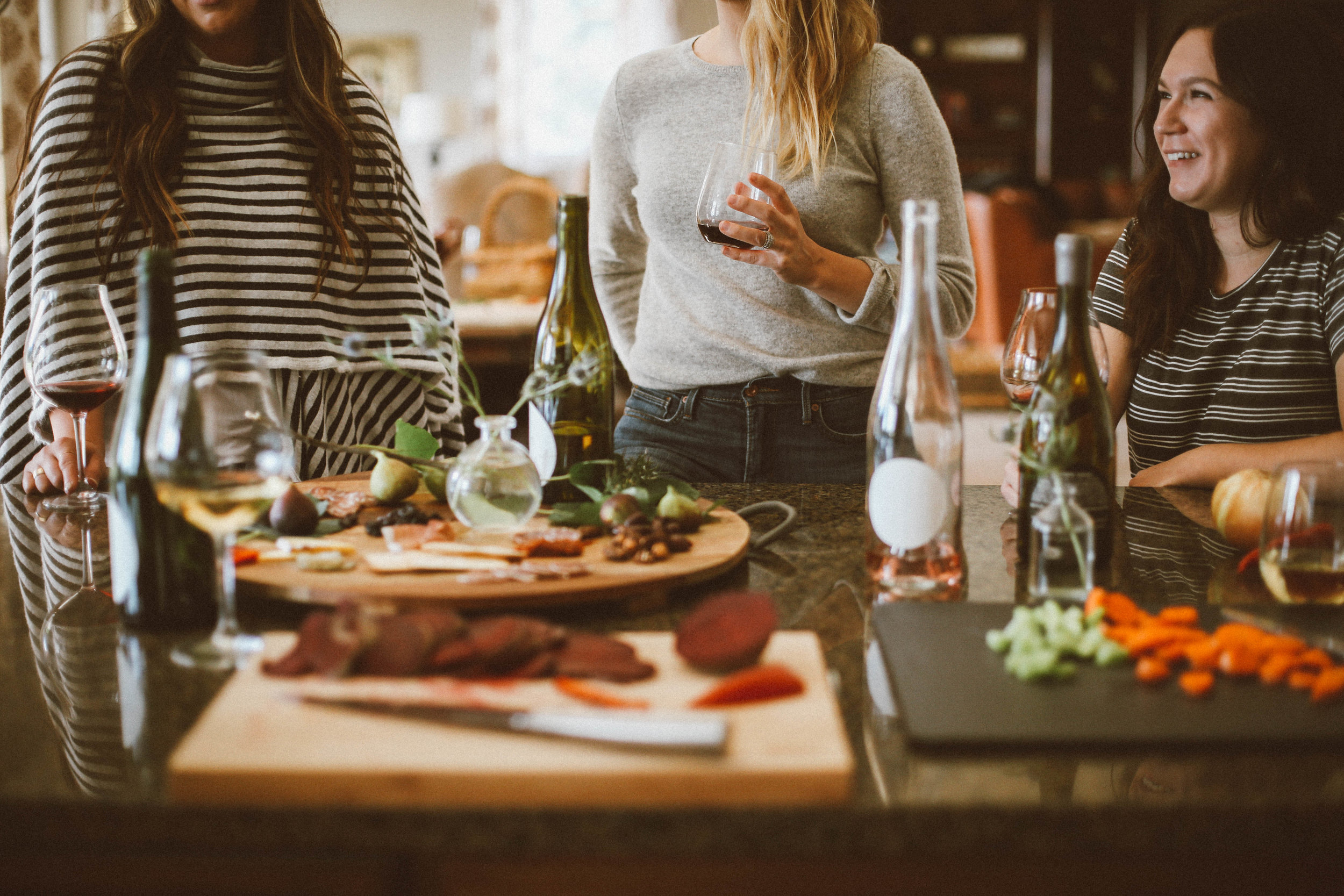Friends coming over for casual wine and chill? - Check these recipes out to set your chill-in apart!