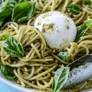 Spaghetti+with+burrata+cream