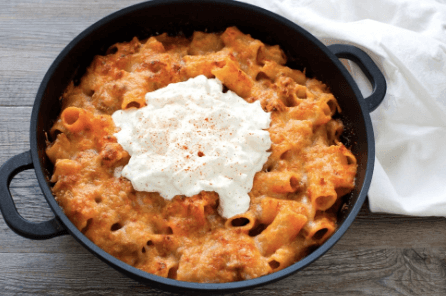 Baked Pasta with Burrata