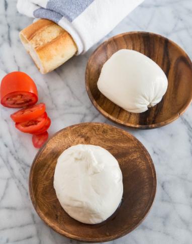 Mozzarella and Burrata