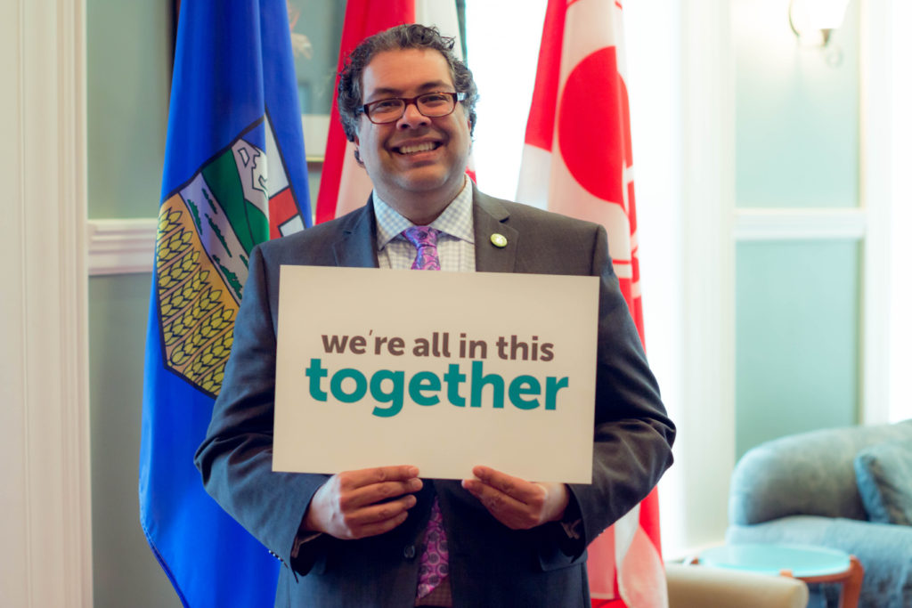 Mayor Nenshi acknowledges that we're all in this together