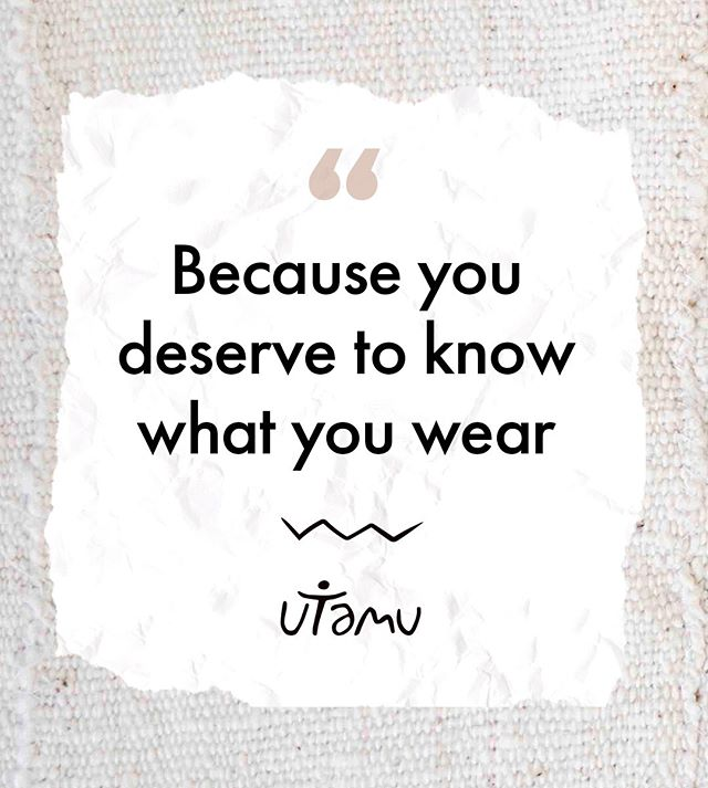 Don't you agree? ⠀⠀⠀⠀⠀⠀⠀⠀⠀ ⠀⠀⠀⠀⠀⠀⠀⠀⠀ From the origin of our raw materials to our production costs and the people who make our clothes, we share the story behind every product because you deserve to know what you wear 🔍⠀⠀⠀⠀⠀⠀⠀⠀⠀ ⠀⠀⠀⠀⠀⠀⠀⠀⠀ #utamuvibes #ecofashion #ethicalfashion #sustainablefashion #fashionforgood #fashionrevolution #wearthechange #whomademyclothes #africanfashion #africandesign #africandiaspora #fashionrising #africarising #africanluxury #africanluxuryfashion #artisanfashion #artisanalfashion #kickstarterfashion #kickstarterfashion