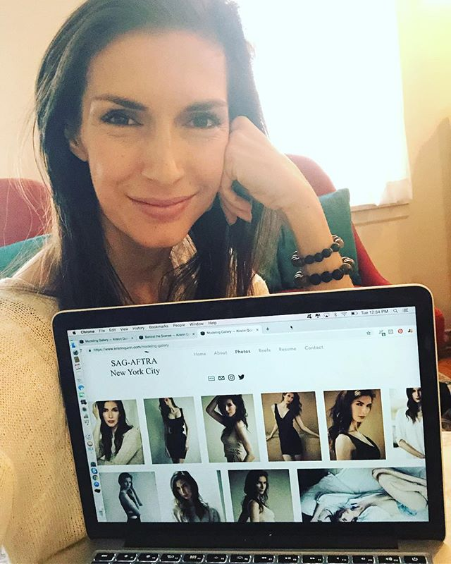 I spent 10 hours straight creating a new website. And not once did I want to throw my computer out the window. kristinquinn.com ✅ #squarespaceismyfriend #patonmyback