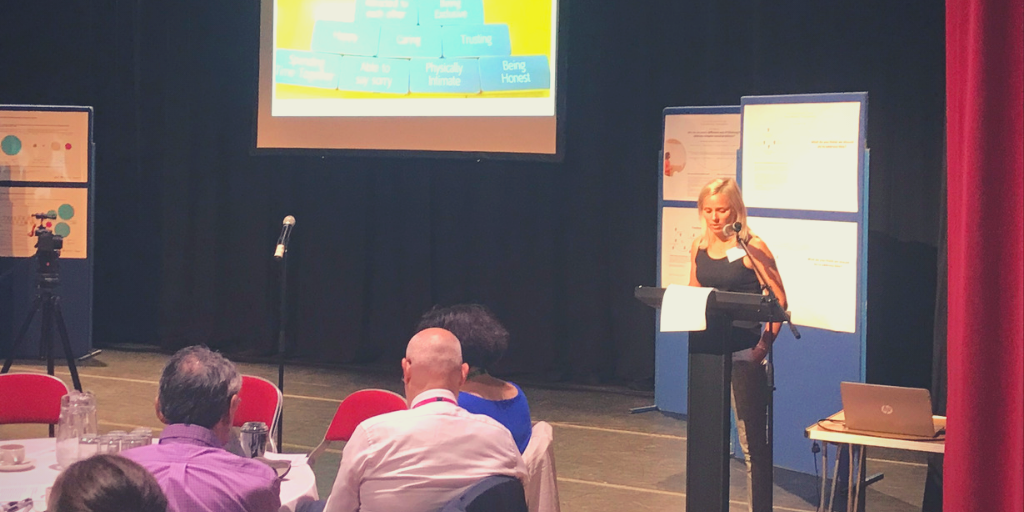 Cheryl Thomas from Active Communities presented their findings from workshops with young people