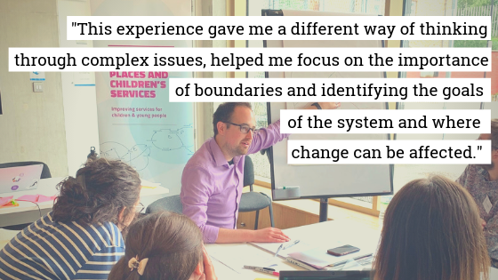 Feedback from one of the participants on the day.
