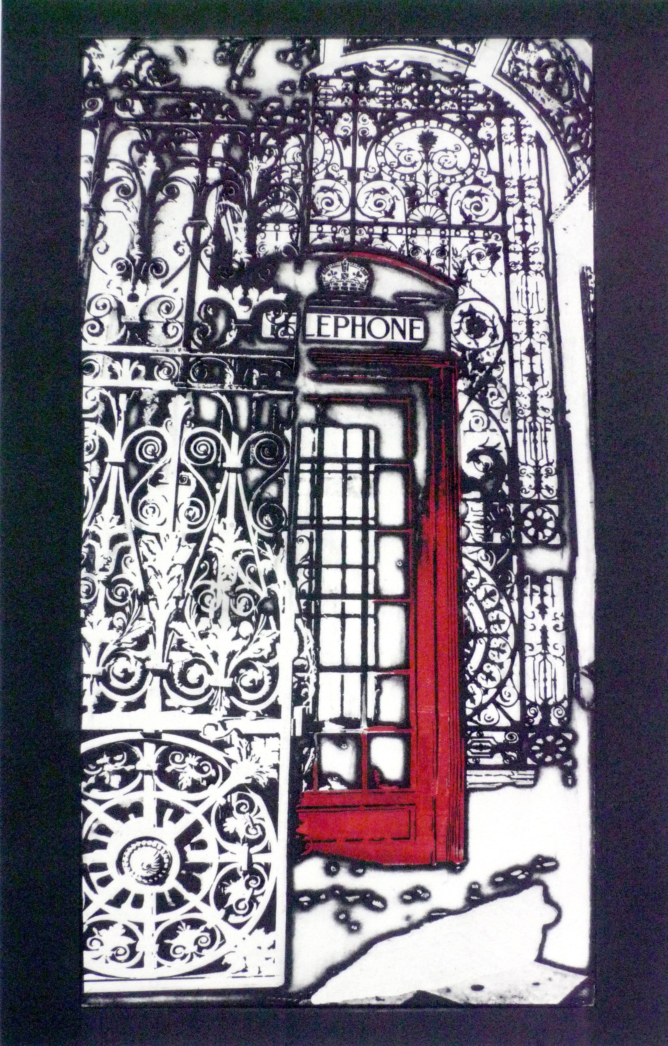 Gateway Call I, Photopolymer etching
