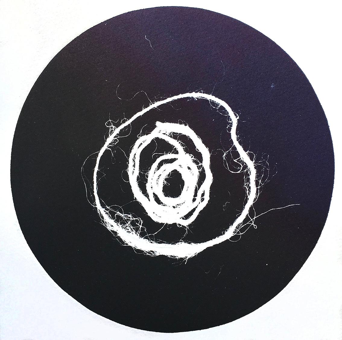 Vinyl Lines II, monotype