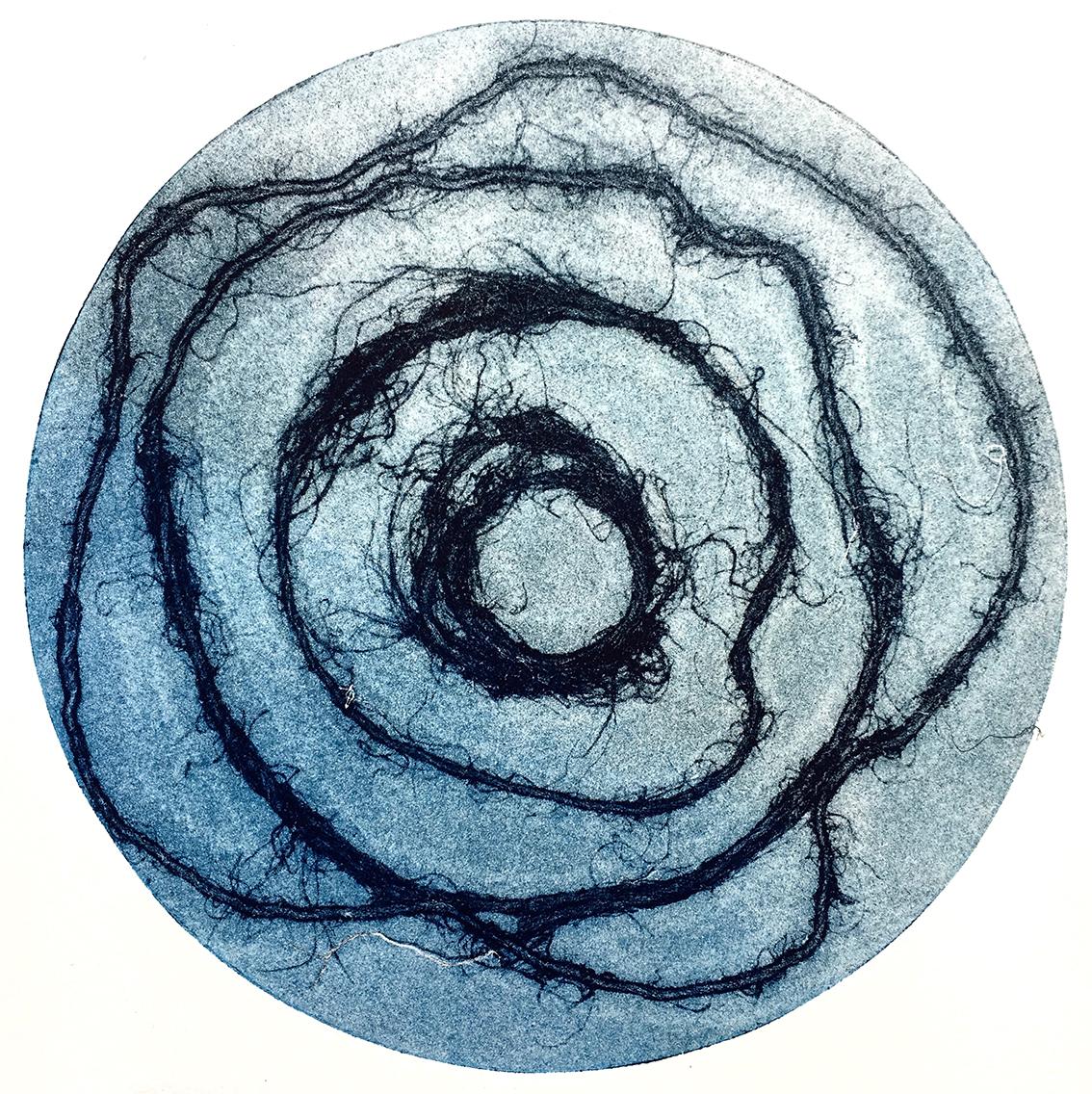 Vinyl Lines III, monotype