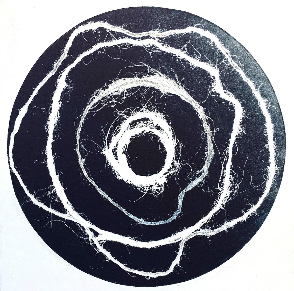 Vinyl Lines I, monotype