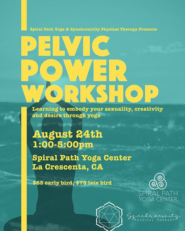 Photos from our first Pelvic Power workshop last month. Stay tuned for upcoming dates throughout SoCal!