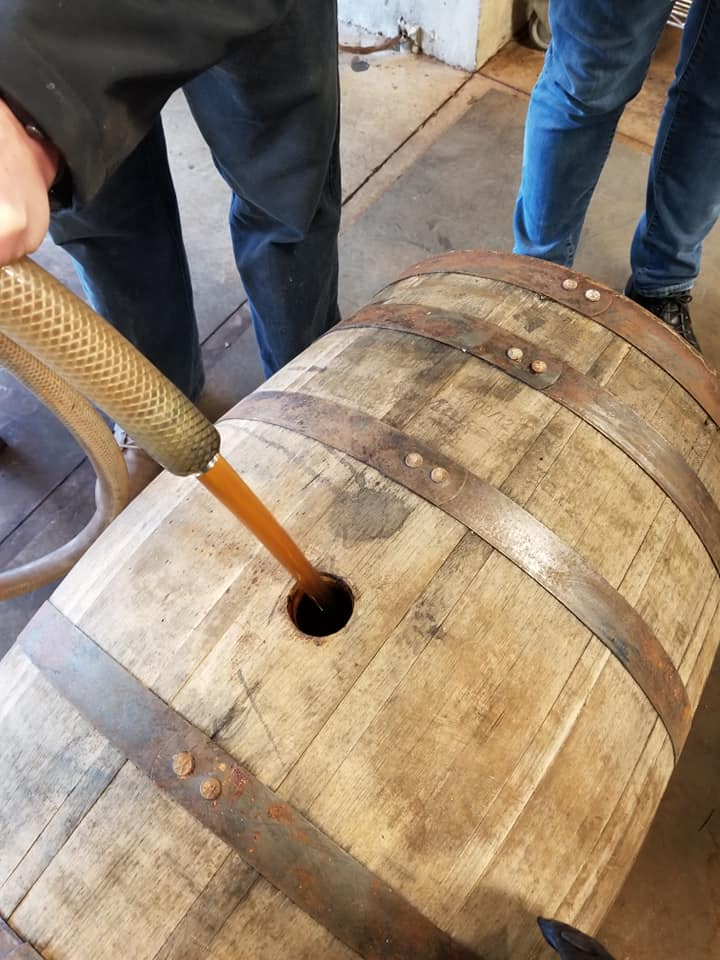Our Very Own Barrel of Bourbon