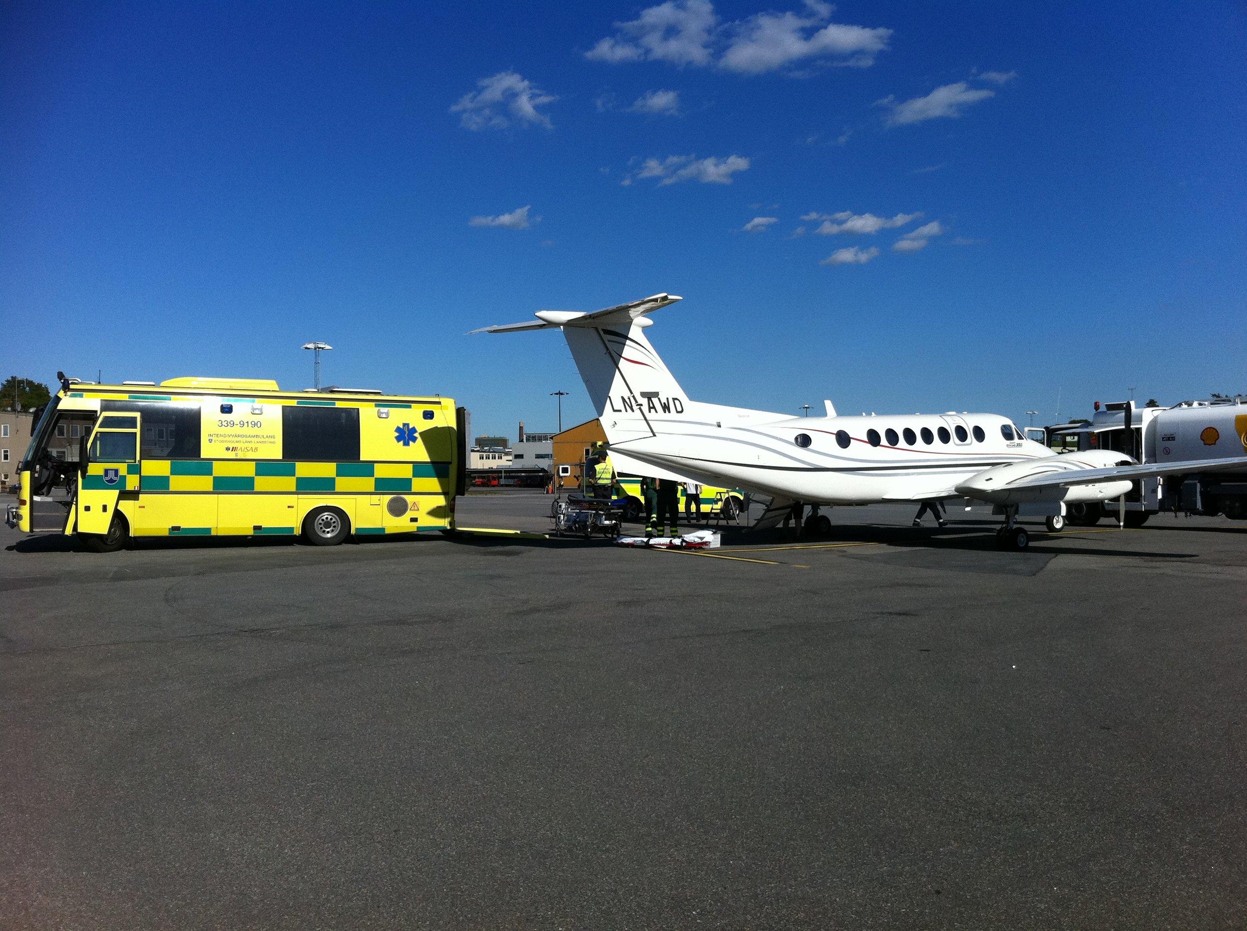 Ambulansefly -