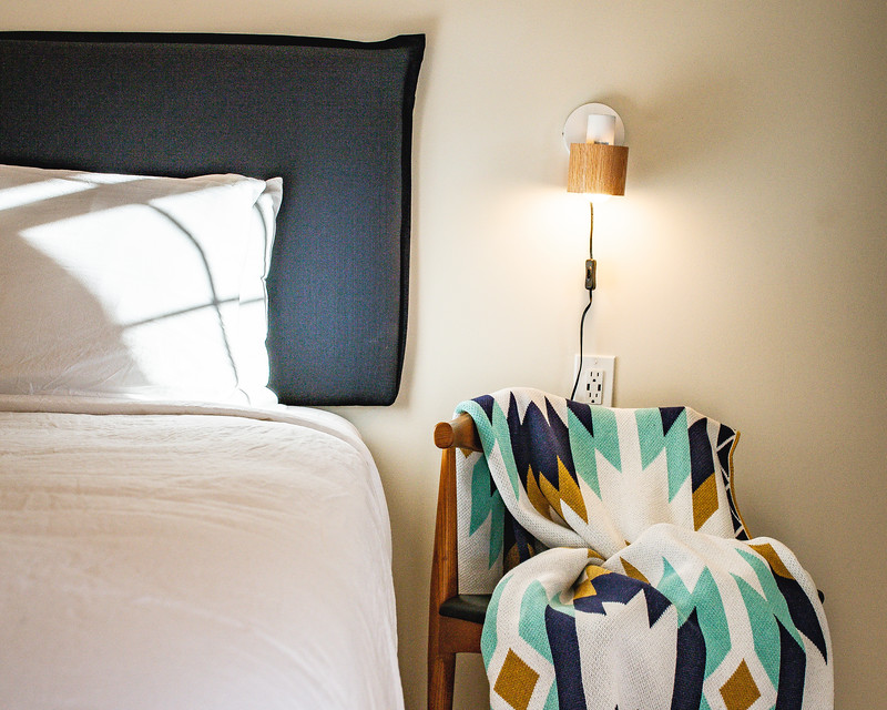 Rooms at SML - Our 12 recently-renovated rooms combine our mid-century roots with a bit of the southwest.
