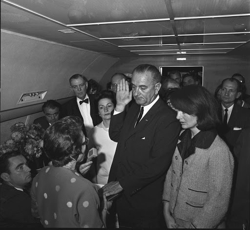 LBJ Library photo by Cecil Stoughton, Nov. 22, 1963