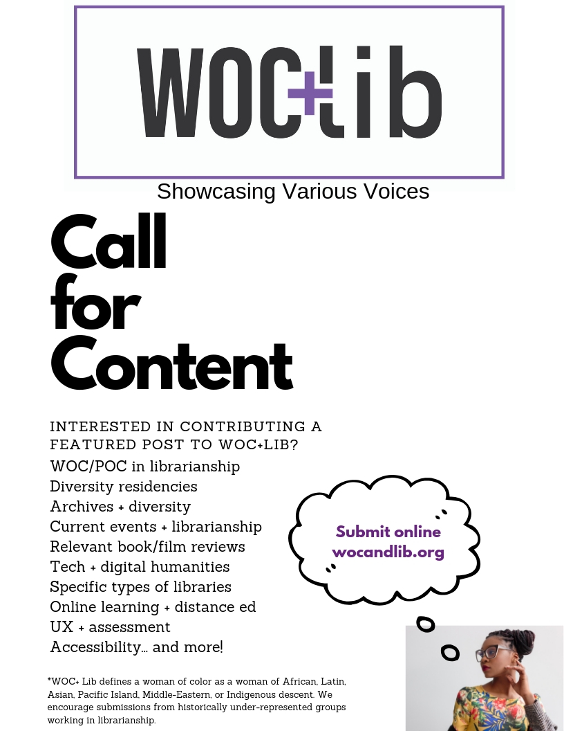 Write for WOC+LIB! -