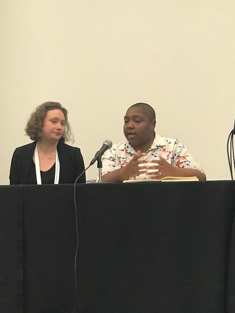 Diana Flogel and Lorin Jackson discuss intersectionality theory and academic libraries.