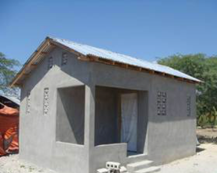 Completion of new house from Fonkoze