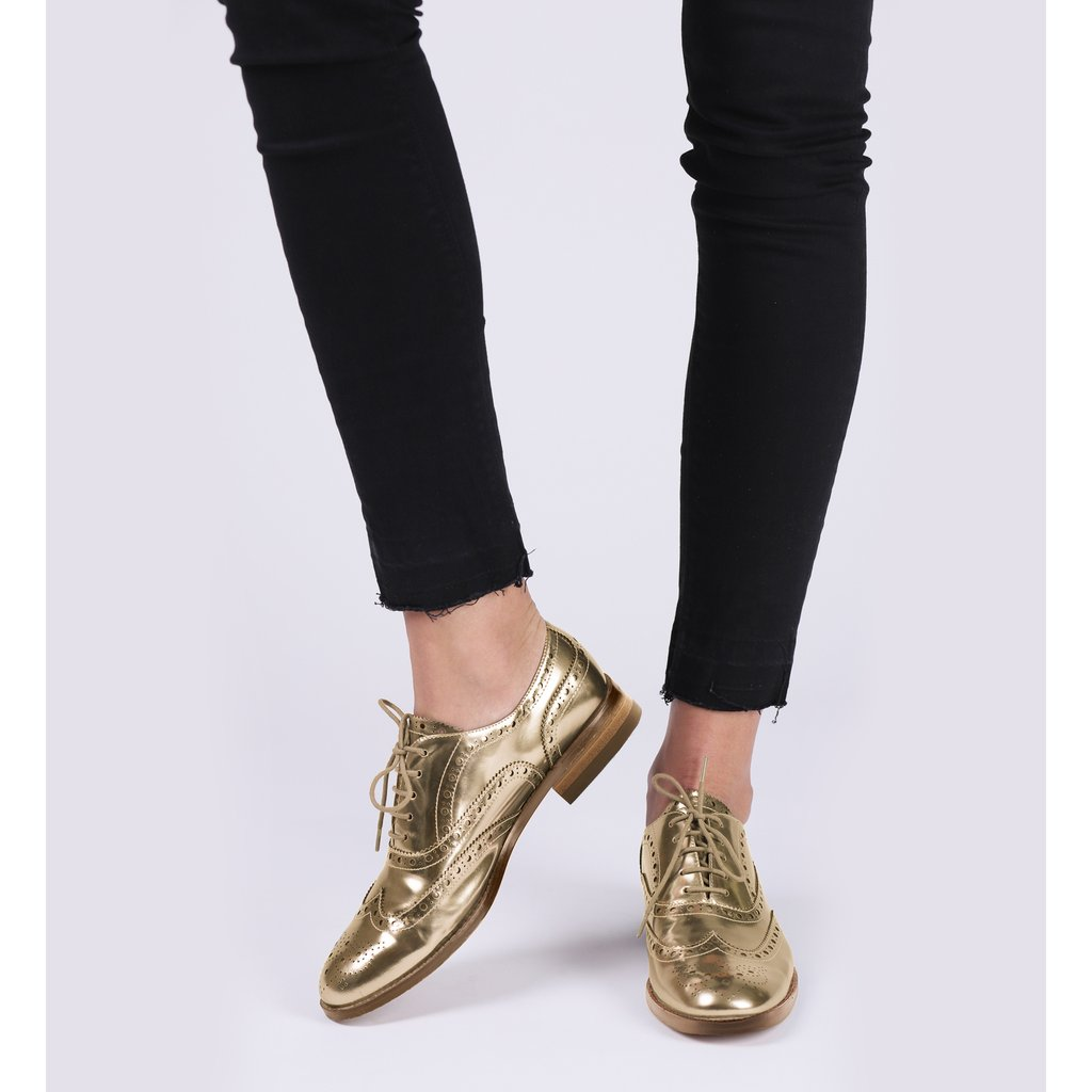 Botkier Callista oxfords in gold