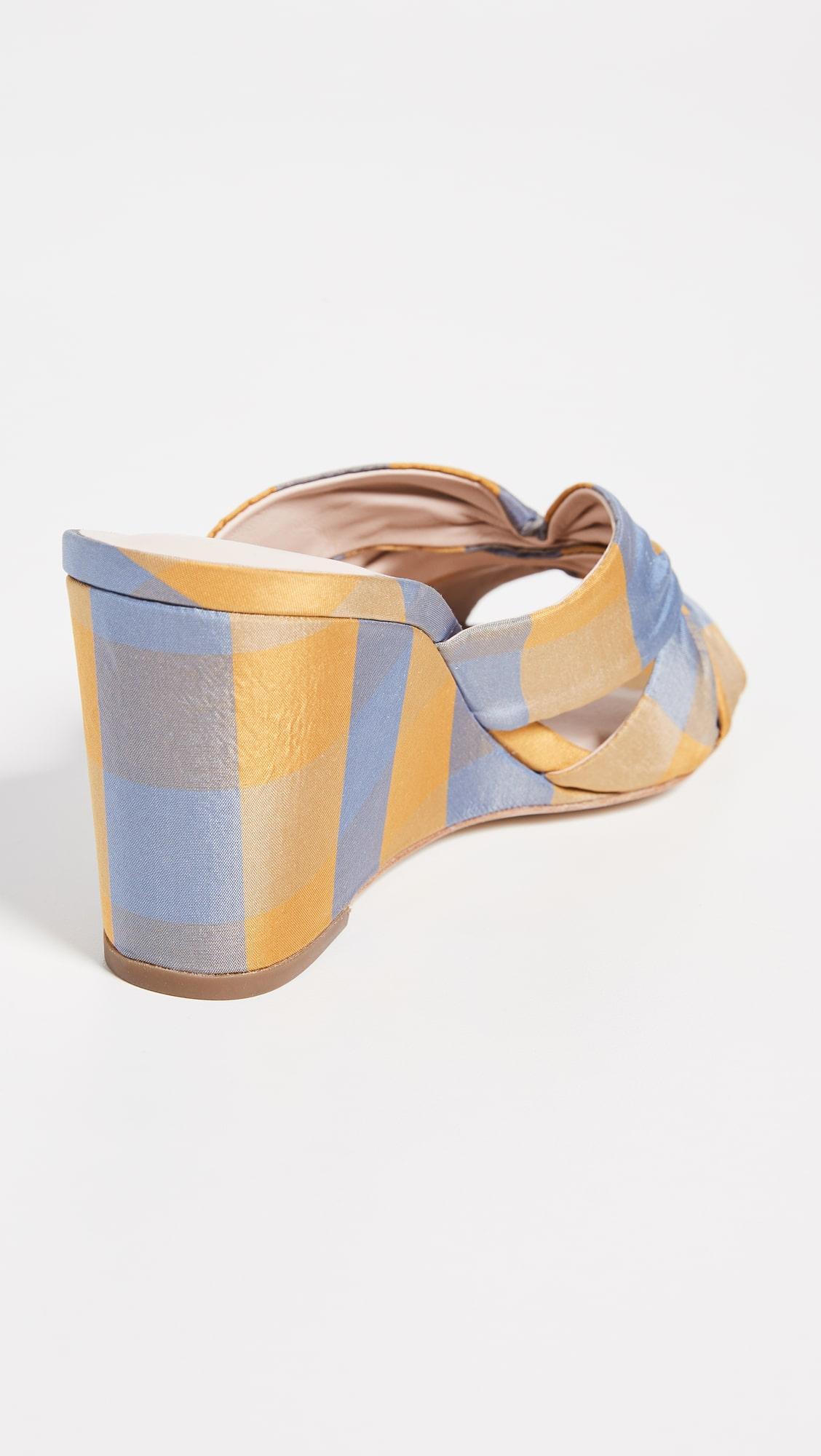Loeffler Randall Sonya cinched wedge sandal at  shopbop.com
