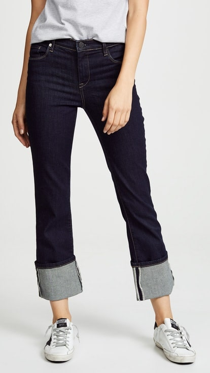 Blank NYC The Varick  cuffed jeans