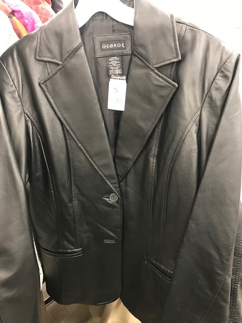 Goodwill George leather jacket
