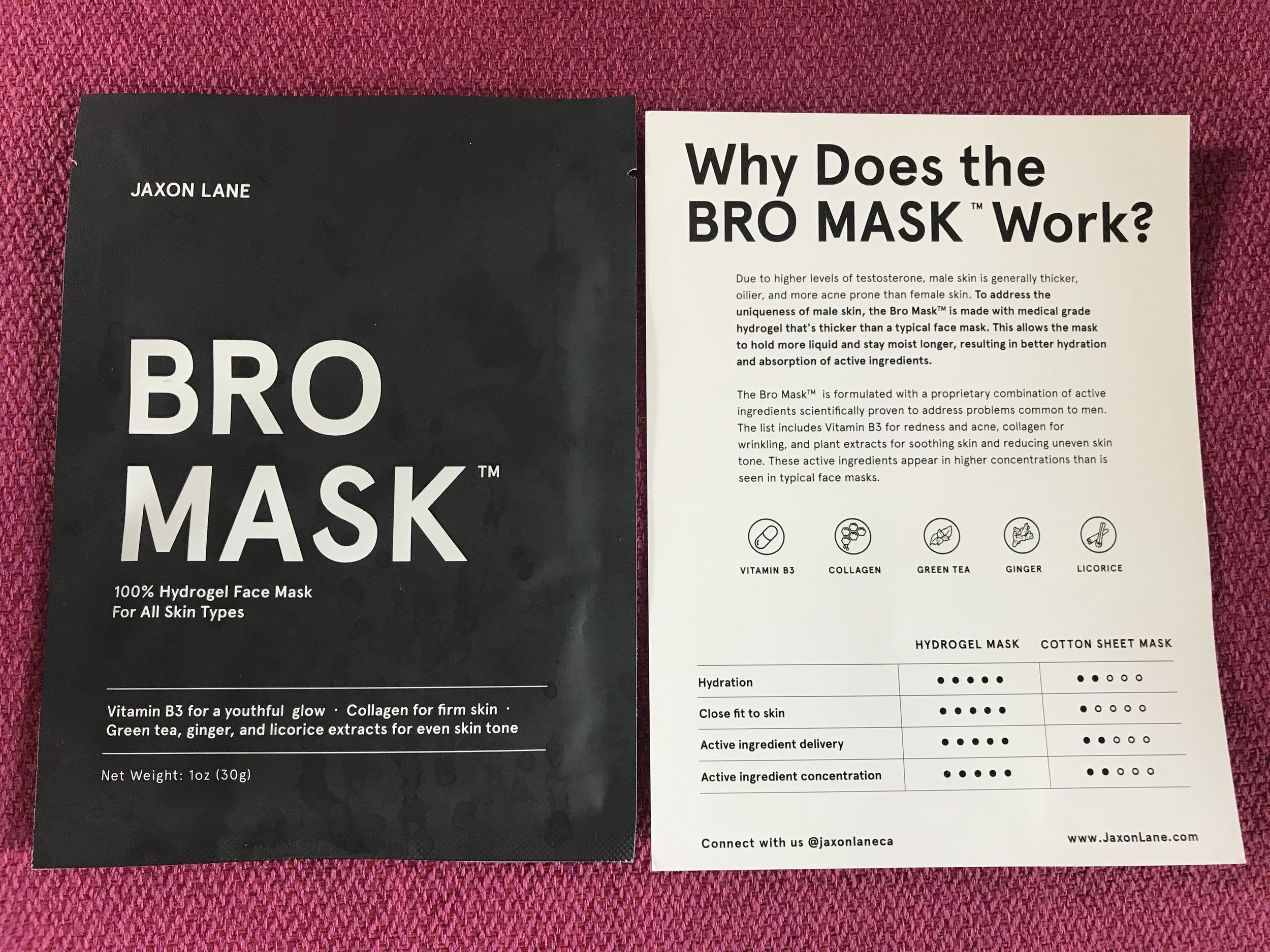 Bro Mask by Jaxon Lane