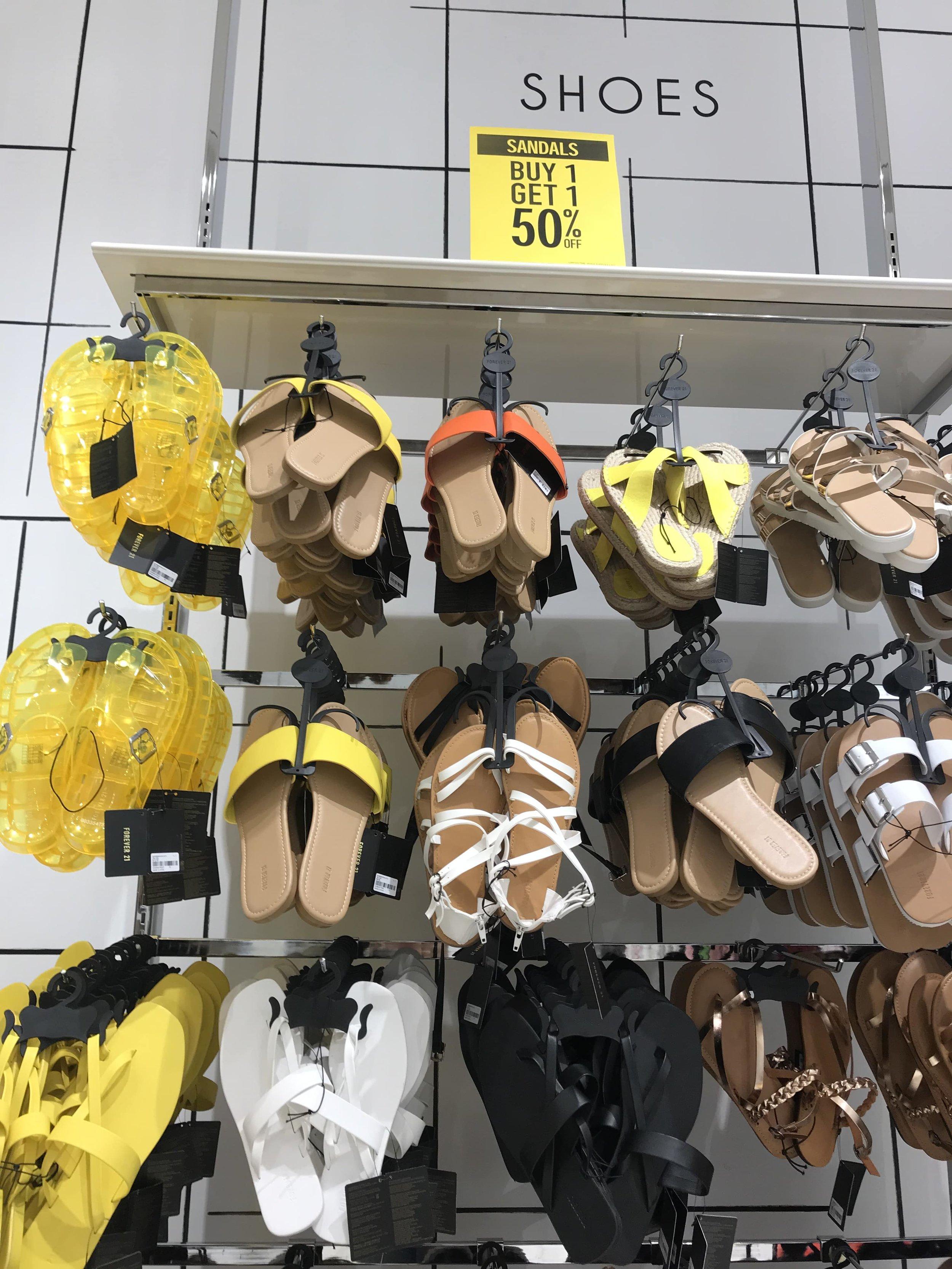 Forever 21 offer on summer sandals
