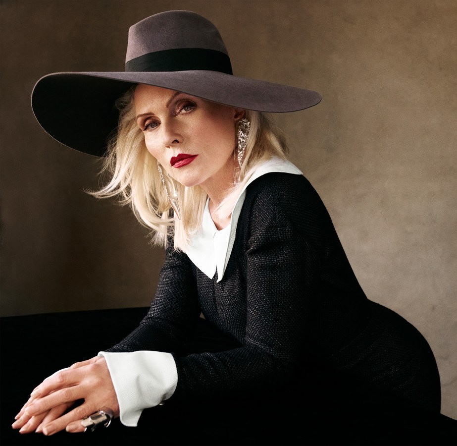 Debbie Harry in a wide brimmed hat. Photo: Victor Demarchelier for Vogue Spain