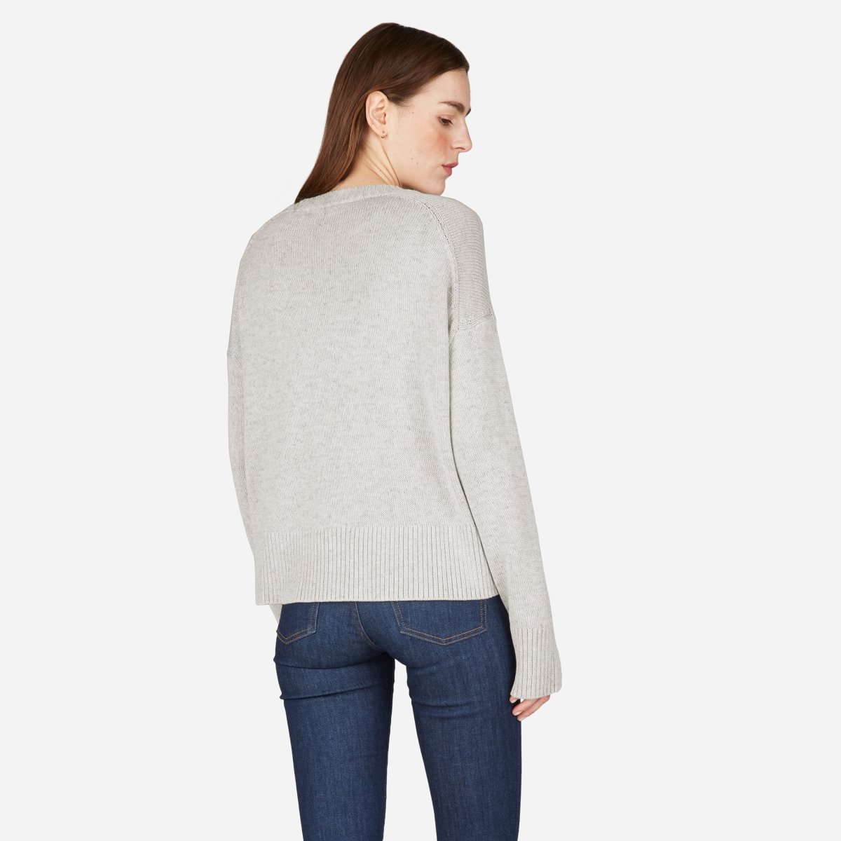 Everlane  soft cotton sweater, $68