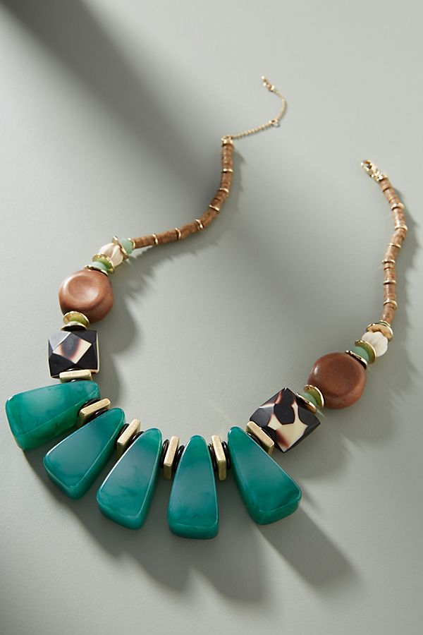 Anthropologie  Jasmine Bib necklace , $68