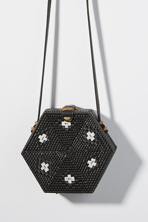 Anthropologie  Betsy Hexagon cross body bag  $88