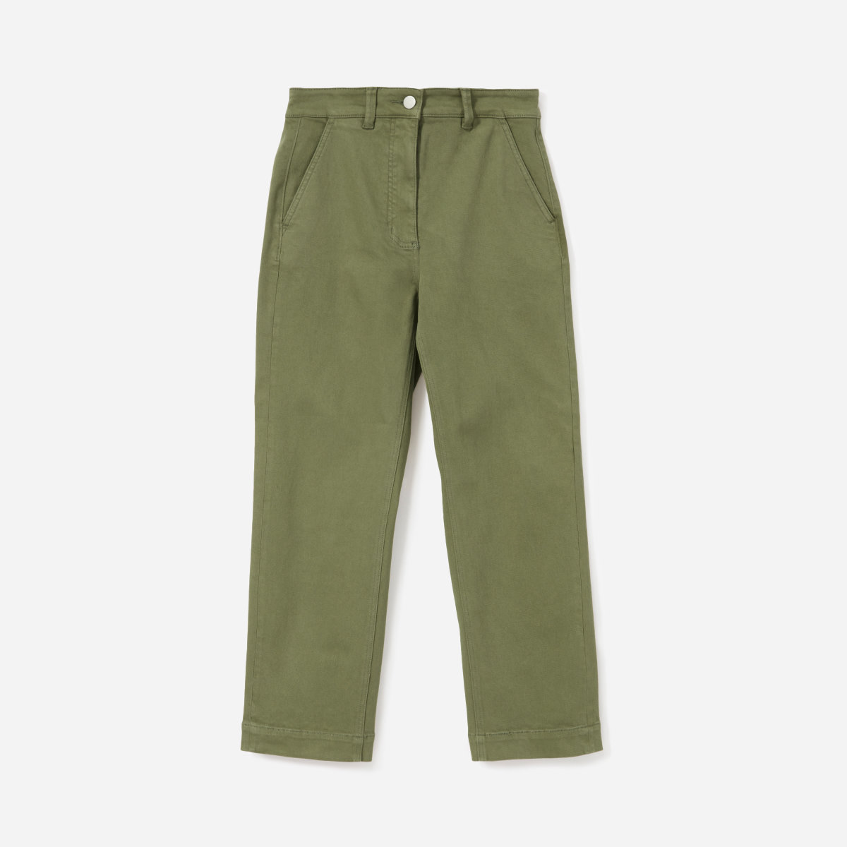Everlane  straight leg crop pants , $68