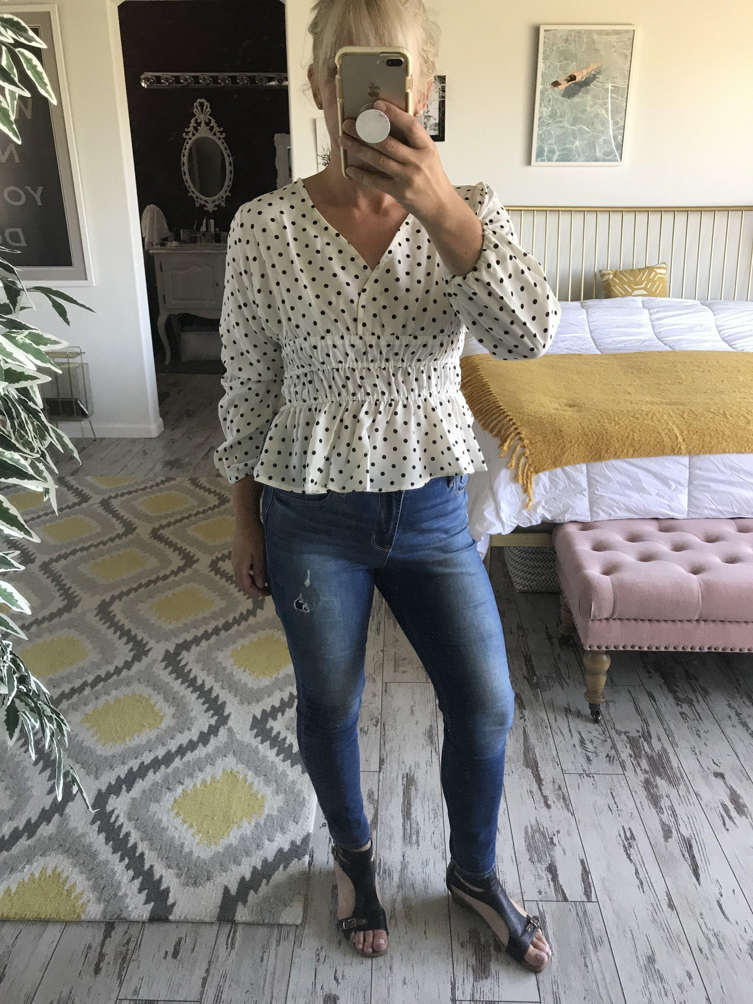 Wearing-SHEIN-polka-dot-wench-top.jpg