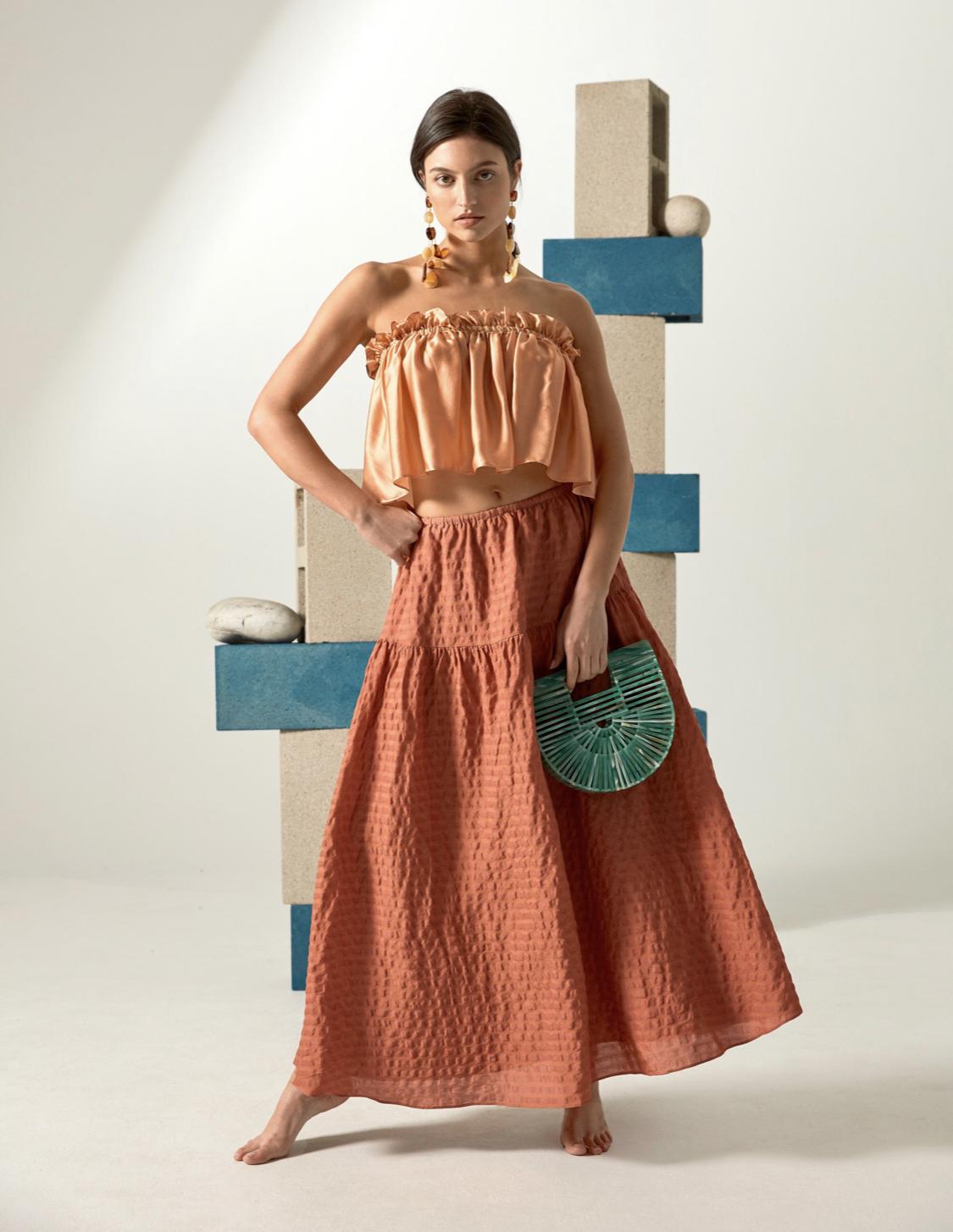 Cult Gaia Reyna skirt, $218