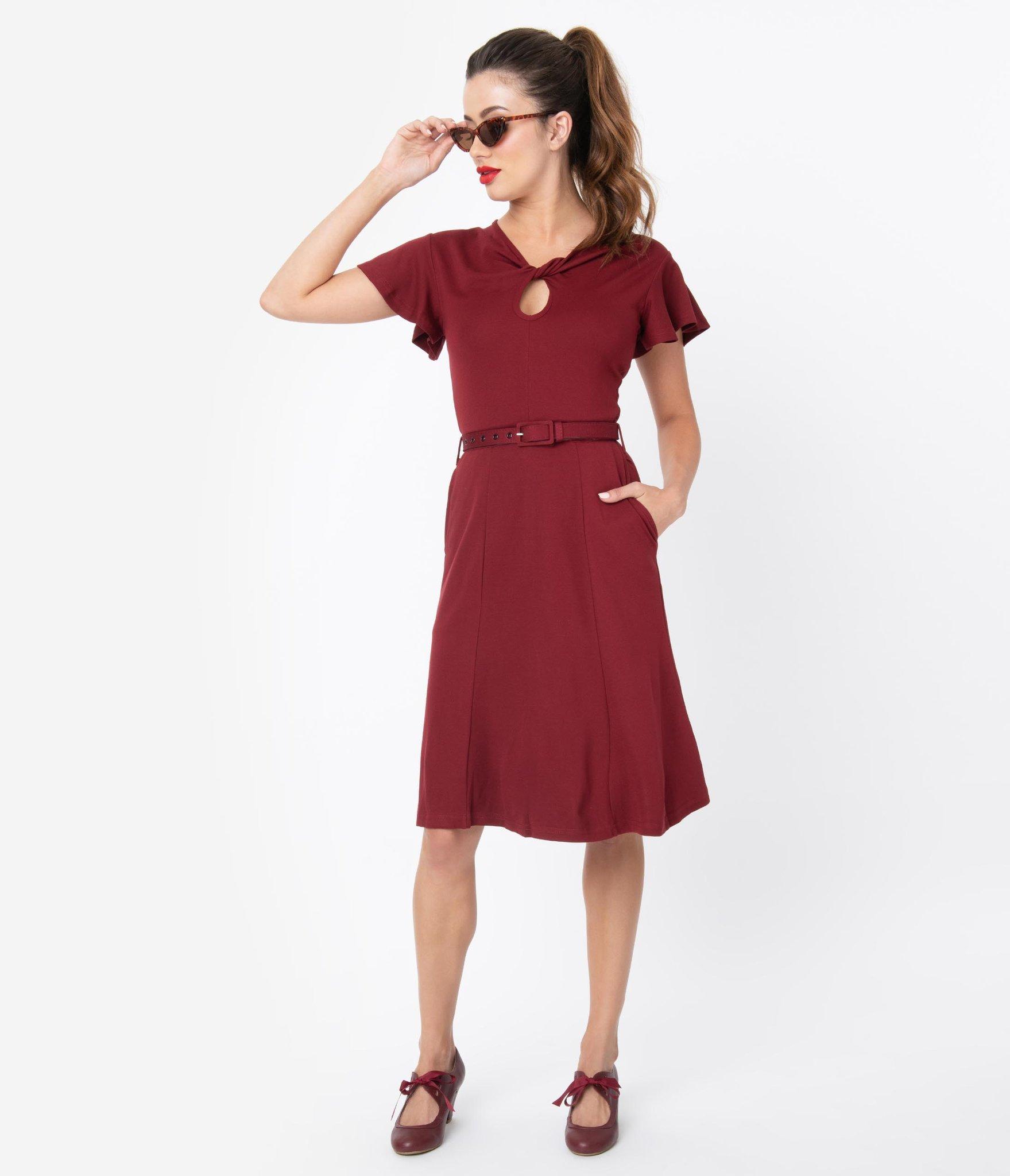 Unique Vintage Voodoo Vixen swing dress, $68