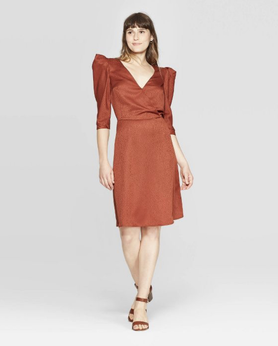 A New Day by Target elbow sleeve midi dress, $27.99