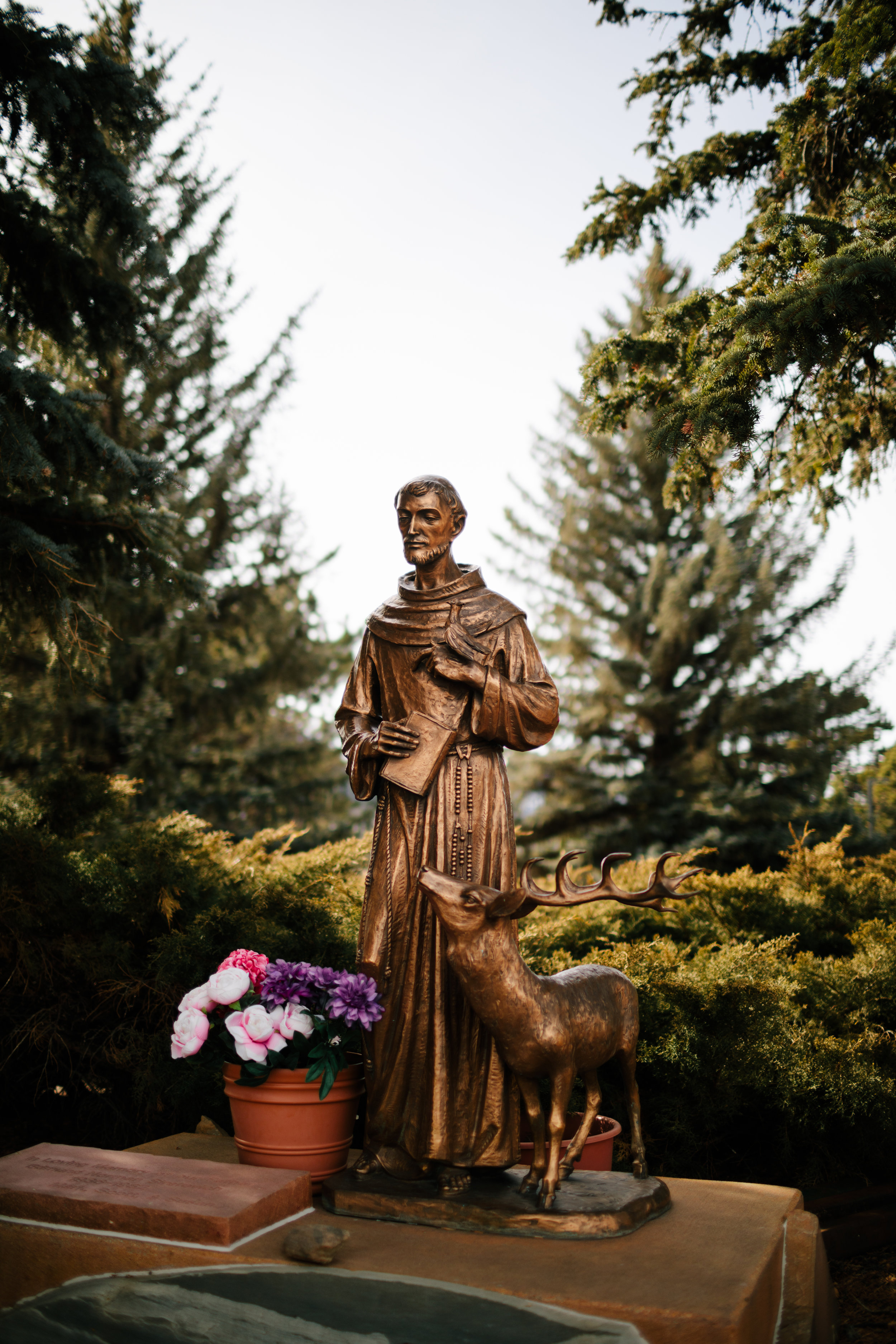 Our parish is named after St. Francis, one of the most widely recognized and revered of the saints. He is known for his dedication to the Gospel, his care for the poor, and his emphasis on caring for nature and all creatures.