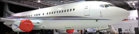 Jumbo jet detailing -