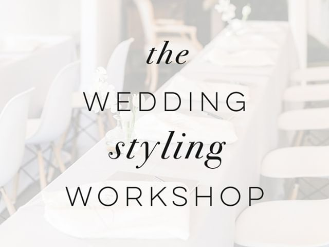 Kinda disappeared for awhile there while we've been tackling wedding season... but rest assured, we're working on the details for our next workshop in early 2020! Stay tuned for details! #weddingstylingworkshop #photographyworkshop #flatlayworkshop #weddingflatlay